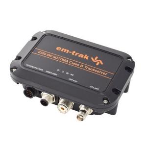 em-trak B350 Klasse B transponder m. 5 watt sendestyrke