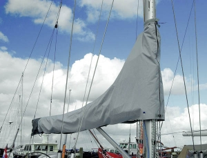 Blue Performance Sail cover 1