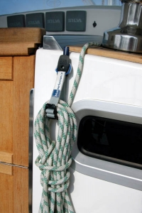 Blue Performance Rope Clips (2 stk.)