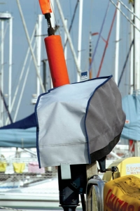Blue Performance Outboard Cover 2