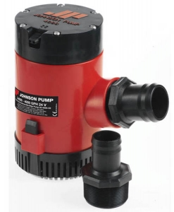 Johnson Lænsepumpe L4000 12V 164L