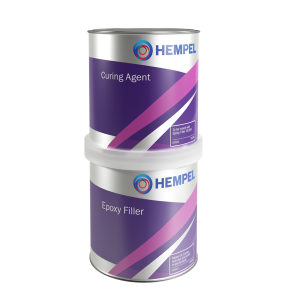 Hempel Epoxy Filler 35253/35251 - 1 ltr Light grey