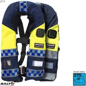 Police auto Blå BALTIC 2717