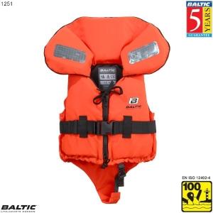Original Børne rednings vest Orange BALTIC 1251