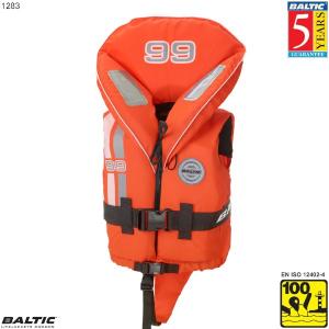 99 redningsvest-Orange-NoSize--50 cm. bryst