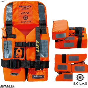 SOLAS 2010 Child 15-43 Orange BALTIC 1040