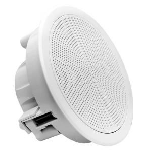 Fusion Flush Højttalersæt 6.5 rund Hvid