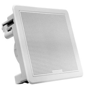Fusion Flush Højttalersæt 6.5 firkantet Hvid