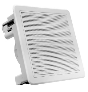 Fusion Flush Subwoofer 10 firkantet Hvid