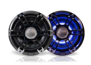 Fusion 8.8 Højttalersæt Chrome + LED