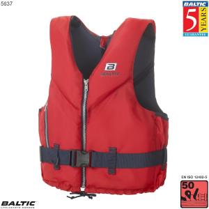 Mariner sejlervest-Rød-Small-58-78 cm. bryst