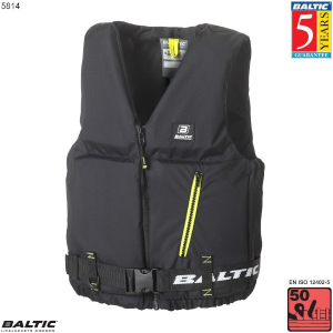 Axent Sejlervest-Sort-Small-58-87 cm. bryst