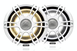 Fusion 8.8 Højttalersæt Hvid + LED
