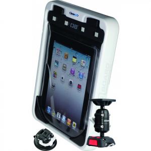 MarinePod iPad holder og vandtæt OverBoard Etui med flexibel ROKK sugekop