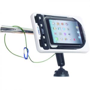 MarinePod vandtæt Tablet Mount til iPad Mini, Tablets og E-Book-readers med ROKK sugekopbeslag