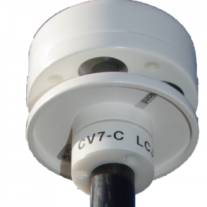 LCJ CV7-C 12/24v Ultralyd Carbon vindmåler m. mastesensor