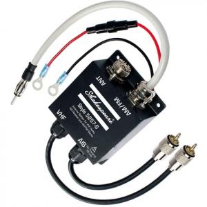 Shakespeare 5257-S antennesplitter til VHF-radio, AIS-modtager og AM / FM-stereo