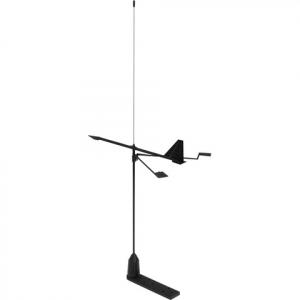 Hawk VHF Antenne med Vindindikator, 20m kabel og beslag 3dB 90cm