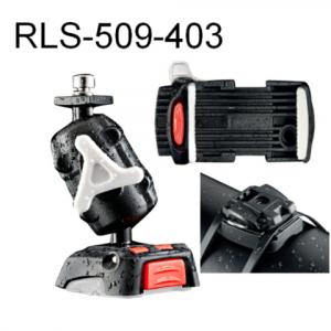 ROKK Mini Phone Mount kit with Cable‐Tie Base RLS‐509‐403
