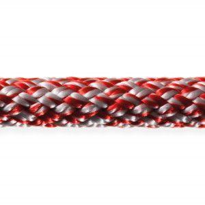 Robline sirius 500 6 mm sølv/rød