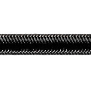 Robline elastik snor 3 mm sort