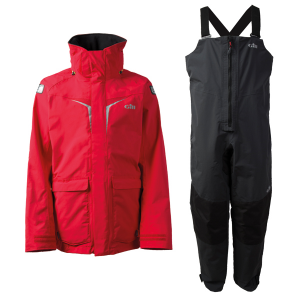 Gill OS31 Coastal Sæt, Herre - Rød jakke