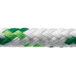 Robline neptun 500 6 mm hvid/grøn