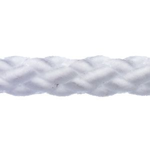Robline polyester 8 line 1 mm hvid